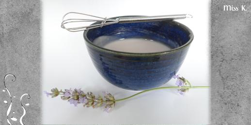 Gesichtscreme Mohnblumen-Lavendel