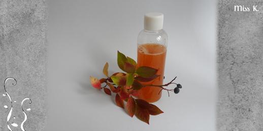 Duschgel Herbstfarben
