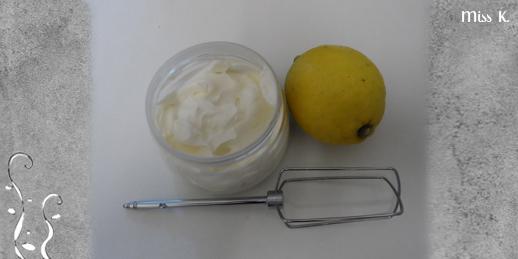 Crème fouettée légère à la bergamotte