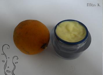 Mousse au citron pour la douche