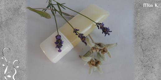 Beruhigendes Gel mit Lavendel und Edelweiss