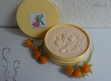 Body Butter Tamarillo + Olivem 1000