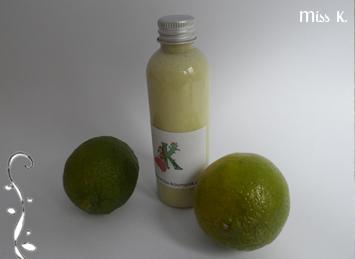 """Bademilch """"Grünen Zitronen"""""""