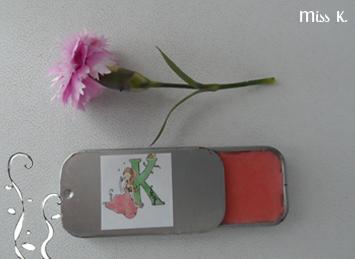 Lippenbalsam mit 3 Pflanzenbutter