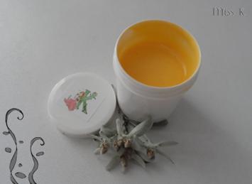 Creme visage à l'huile de piqui et edelweiss