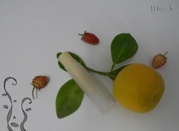 Fruchtiger Lippenbalsam für Surfer