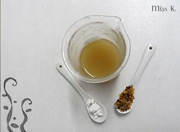 Feuchtigkeitspendede Gelee mit irischem Moos und Kudzu Stärke
