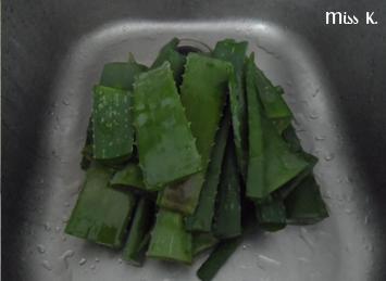 1 Zutaten, 4 Produkte: Aloe Vera Gel