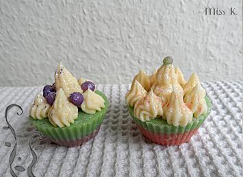 1 ingrédient, 4 produits: savon cupcake à l'aloé vera